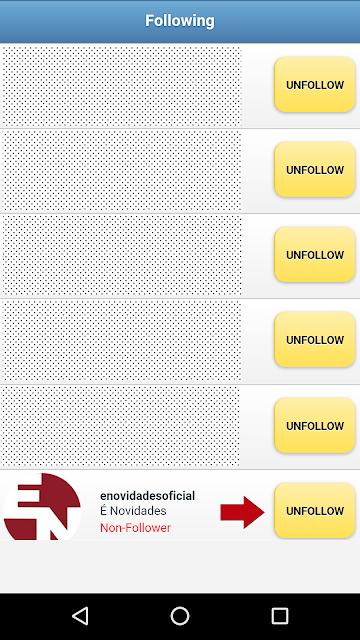 Como dá Unfollow em quem não te segue de volta no instagram