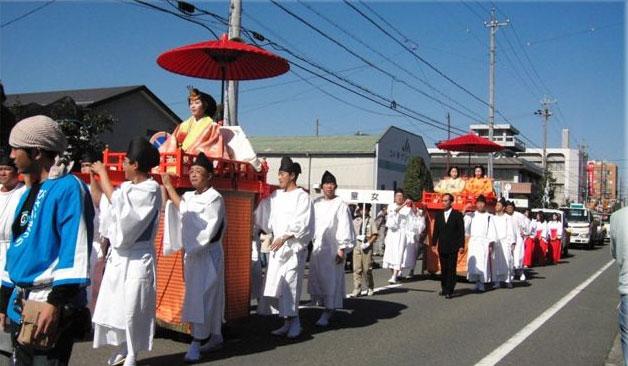 Bisai Matsuri (Orihime Parade), Ichinomiya City, Aichi Pref.