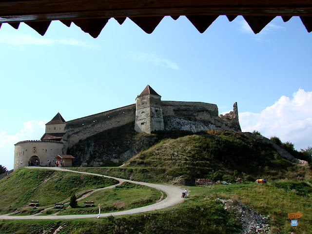 Ciudadela de Rasnov - Rumanía