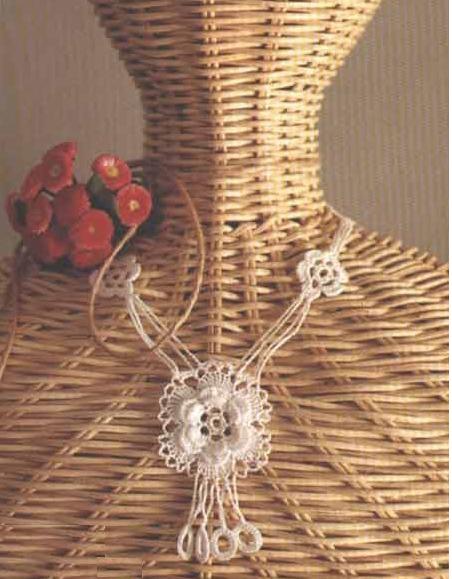 Gargantilla Etnica Mandala de Crochet