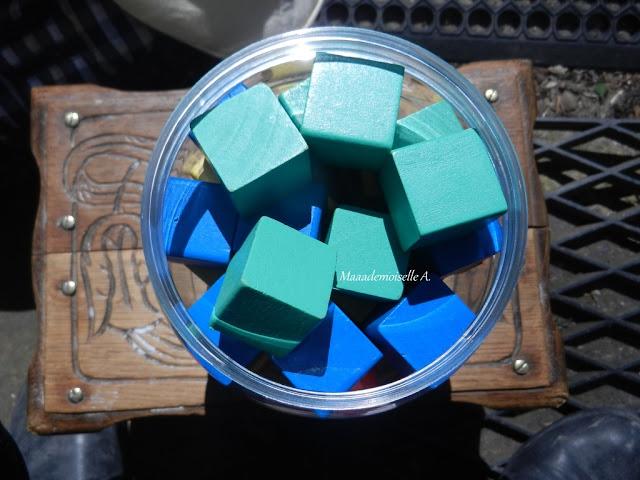 || Cubes colorés en bois Oxybul (Présentation & Avis)
