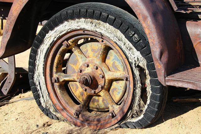 Expired Tyre