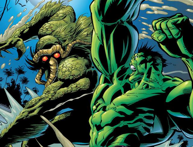 hulk vs man thing