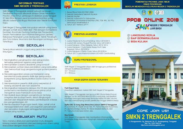 Brosur PPDB Online SMKN 2019 (depan)
