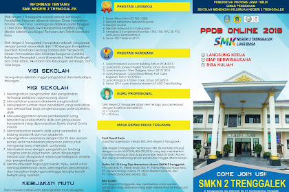 File .PSD Brosur Penerimaan Peserta Didik Baru (PPDB), Tinggal Edit