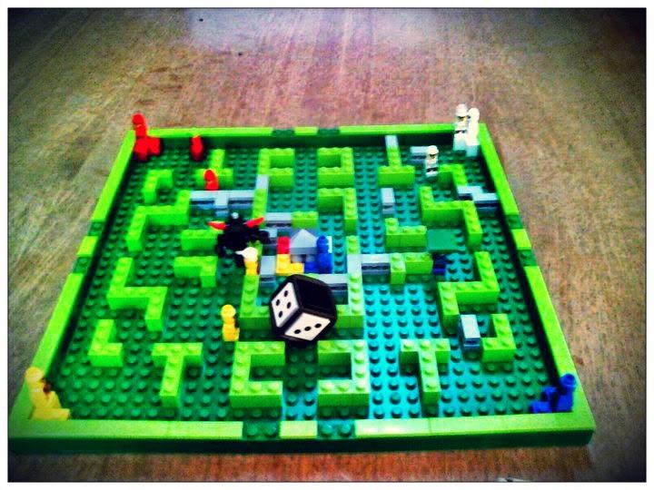Minotaurus un parchís diferente de Lego. Ludo Parcheesi boardgame kids