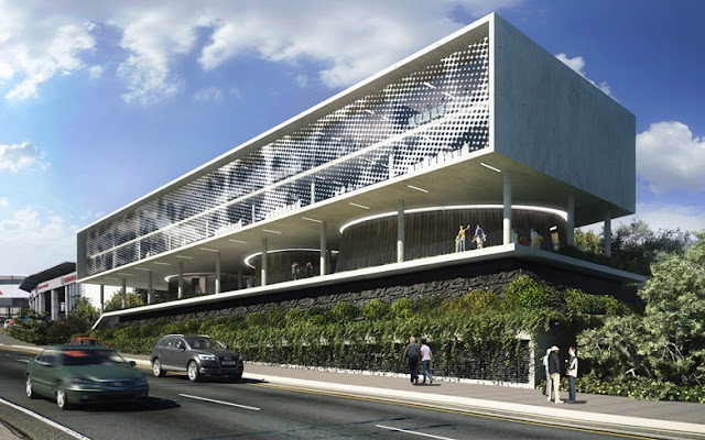 Corlett Drive – The Creative Council – Commercial Office – 4200sqm – Completion