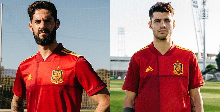 Padre Megalópolis Ubicación  Spain Euro 2020 Home Kit Released - Footy Headlines