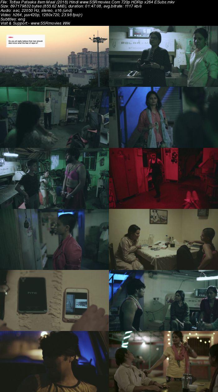 Tottaa Pataaka Item Maal (2018) Hindi 480p HDRip x264 300MB ESubs Movie Download