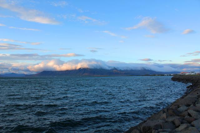 La costa de Reikiavik
