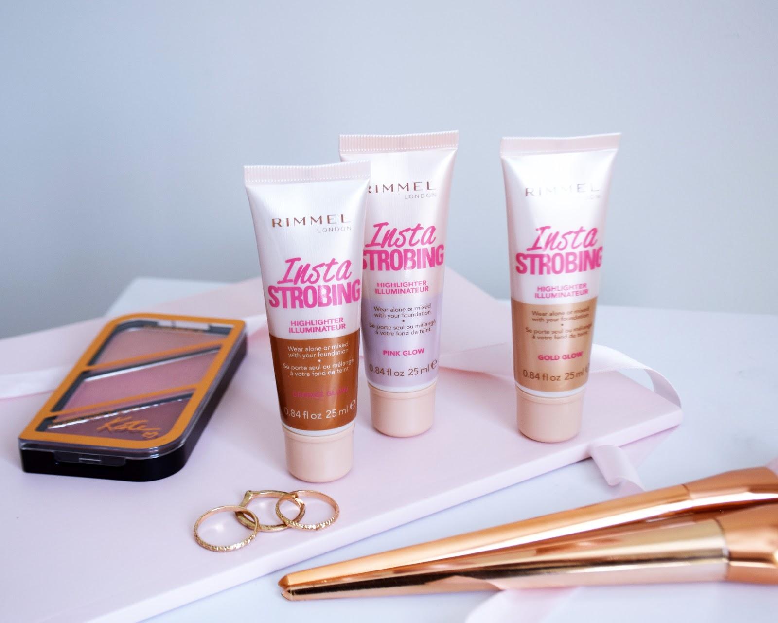 Australian Beauty Reviews Klara Reset Flawless 25ml Rimmel Insta Strobing Liquid Highlighters Review
