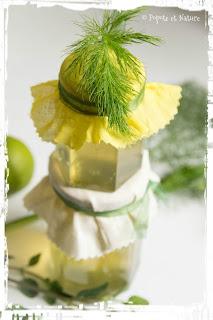 Confit de fenouil du jardin au citron vert © Popote et Nature