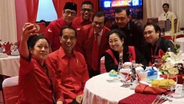 Foto Kepala BIN bersama Jokowi dan PDIP, Andi Arief: Aduh Kucing Tetangga Saya Salto