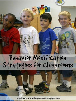 behavior modification strategies for the classroom