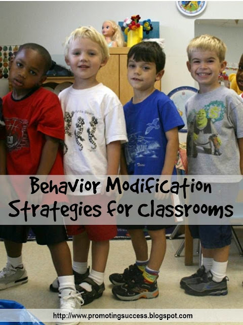 behavior modifications for kids in the teacher classroom