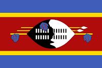 Logo Gambar Bendera Negara Eswatini PNG JPG ukuran 200 px
