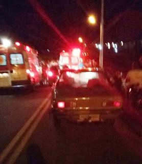 Acidente envolvendo carro e motos é registrado em Picuí