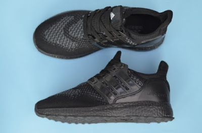 Sepatu Adidas Ultraboost Shoes Men (import) Full Black