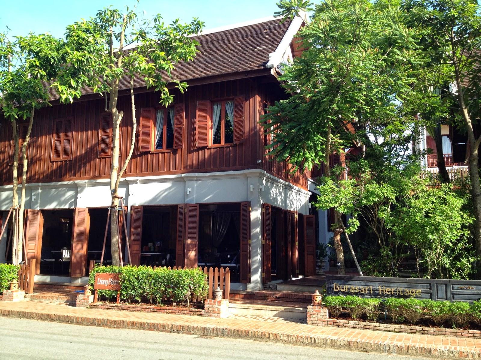 Luang Prabang - Burasari Heritage exterior