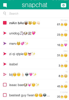 snapchat friends page