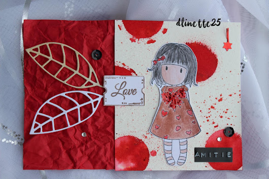 cards, scrap & diy #11 !! et match the sketch #215