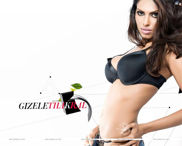 Gizele Thakral Bikini Wallpaper