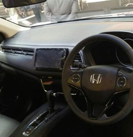 Interior Honda HR-V E Special Edition