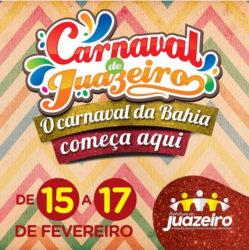 O Carnaval da Bahia começa aqui em Juazeiro de 15 a 17 de fevereiro. No  próximo dia 18 de janeiro às 18h, na Praça de Alimentação do Juá Garden  Shopping, ... 75b24d96f5