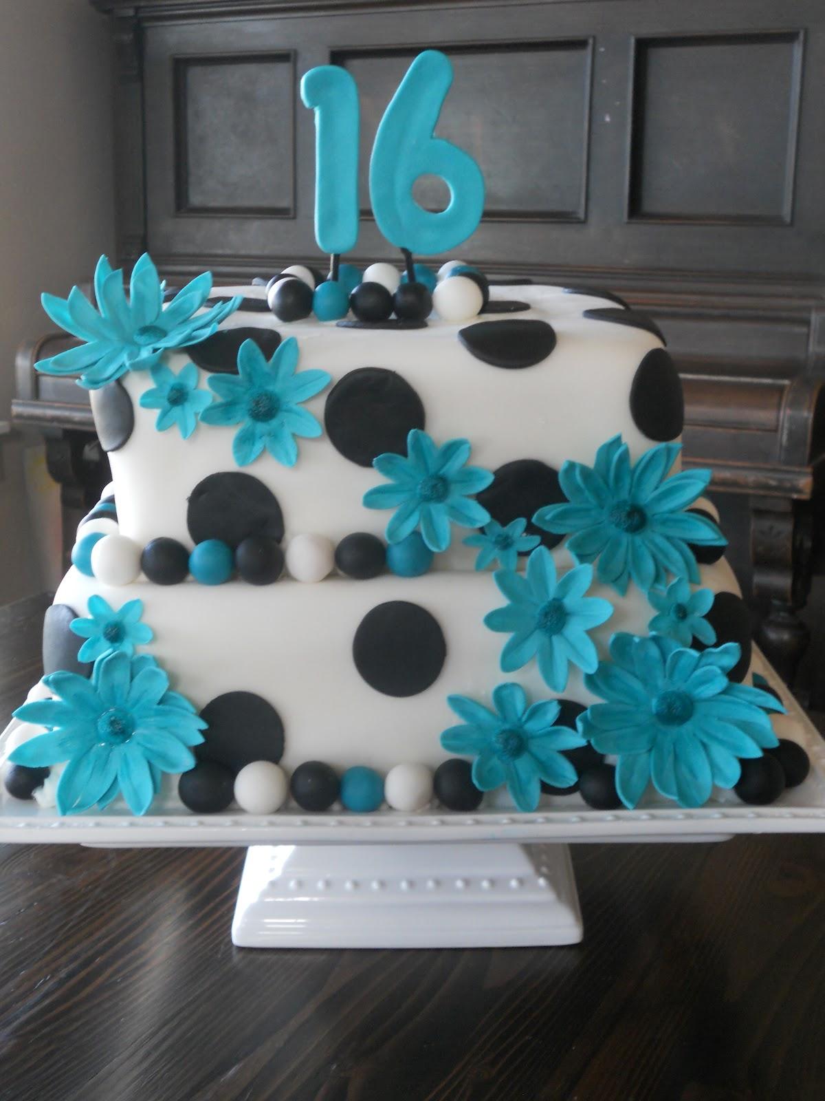 Cakes By Carla Sweet Sixteen Birthday Cake