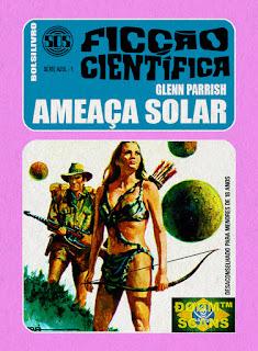 bolsilivro sos ficção científica cedibra série azul glenn parrish ameaça solar