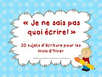 https://www.teacherspayteachers.com/Product/20-sujets-decriture-pour-lhiver-winter-themed-writing-prompts-French-1042111?aref=ngvnec6r