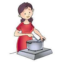 Soal UAS Bahasa Indonesia Kelas 1 Semester 1 gambar 1 memasak