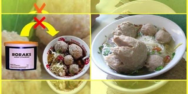 Maraknya Penjualan Makanan dari Bahan Berbahaya Membuat Kita Harus Waspada!!Inilah Cara Mudah Mendeteksi Bakso yang Mengandung Boraks dan Formalin!!