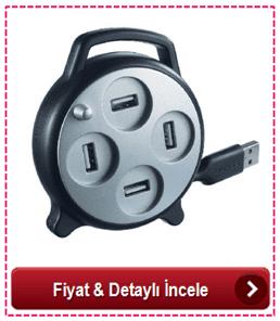 4 Girişli USB Çoklayıcı