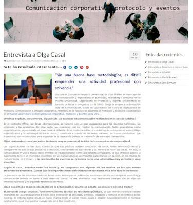 Entrevista a Olga Casal. UOC