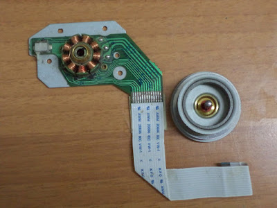 CD DVD-ROM Spindle BLDC motor rotor removed