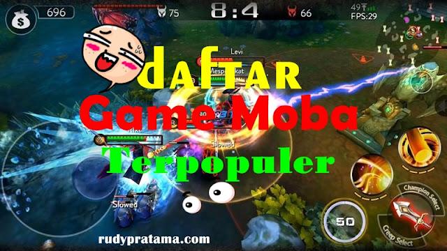 game moba terpopuler