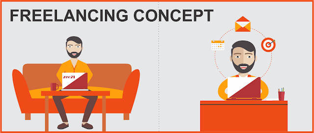 freelancing concept