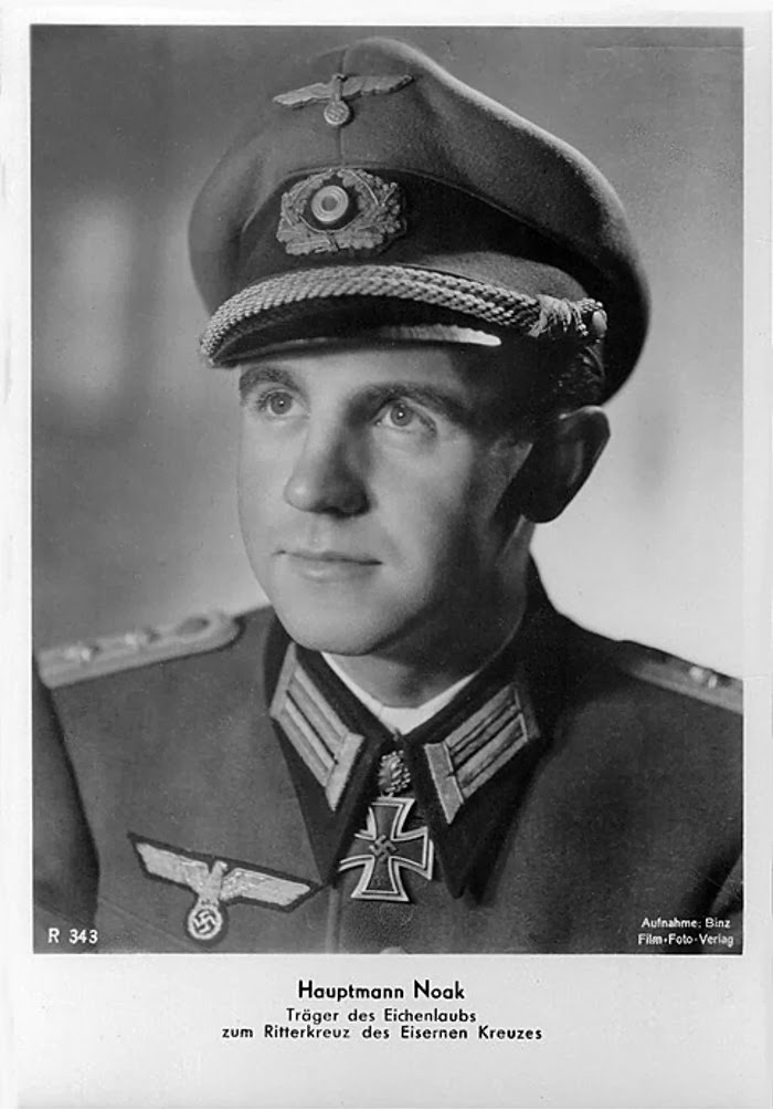 Karl-Heinz Noak Ritterkreuzträger Knight Cross Holder Postcard