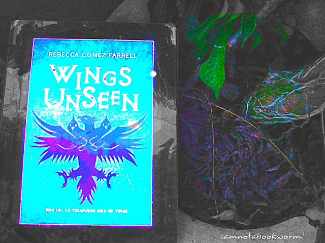 Wings Unseen by Rebecca Gomez Farrell | A Book Review by iamnotabookworm!