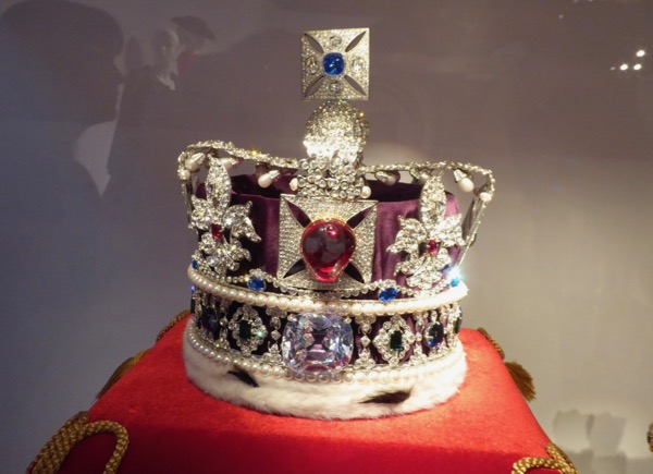 Queen Elizabeth II Crown replica