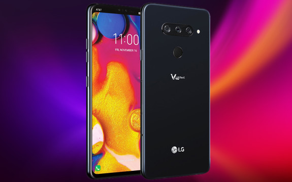 LG showed the flagship smartphone V40 ThinQ with five cameras
