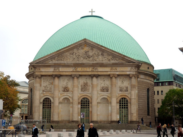 St Hedwig's Cathedral, Berlin, Germany