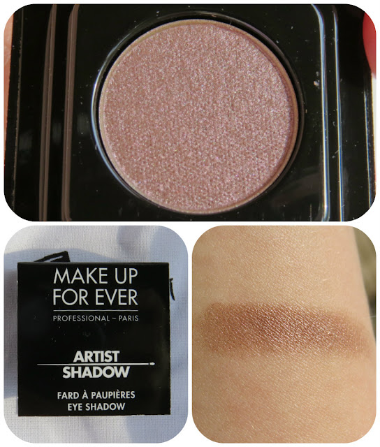 Make Up For Ever Artist Shadow in I-544 Pink Granite
