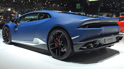 Lamborghini Huracan Avio special edition left side rear view
