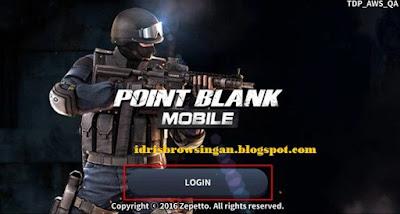 Cara mendaftar akun point blank