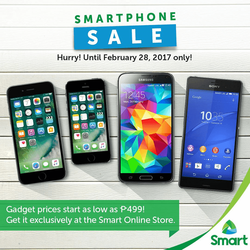 Smart HUGE Smartphone Sale Announced!