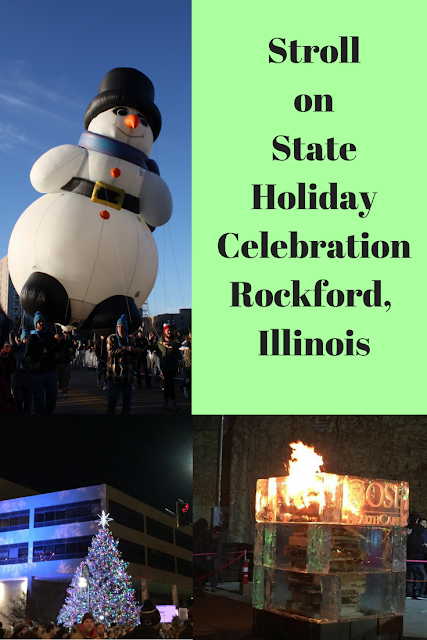 Stroll  on  State Holiday Celebration Rockford,  Illinois