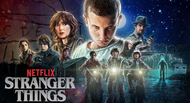 temannya bekerja sama untuk mencari Will Sinopsis TV Series : Stranger Things (2016– )