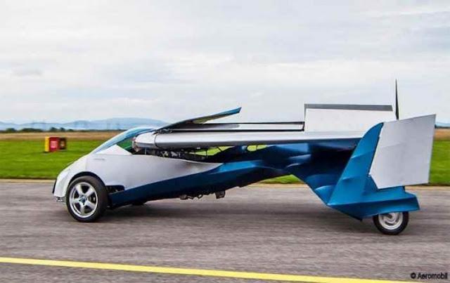 Γεγονός το πρώτο ιπτάμενο αυτοκίνητο..Το AeroMobil Flying Car, ένα υβρίδιο αυτοκινήτου και αεροπλάνου,